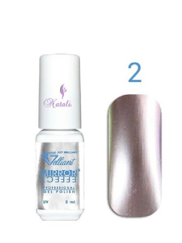 Gelliant Mirror Chrome Polish nº 002 Magic Beige de 9 ml.